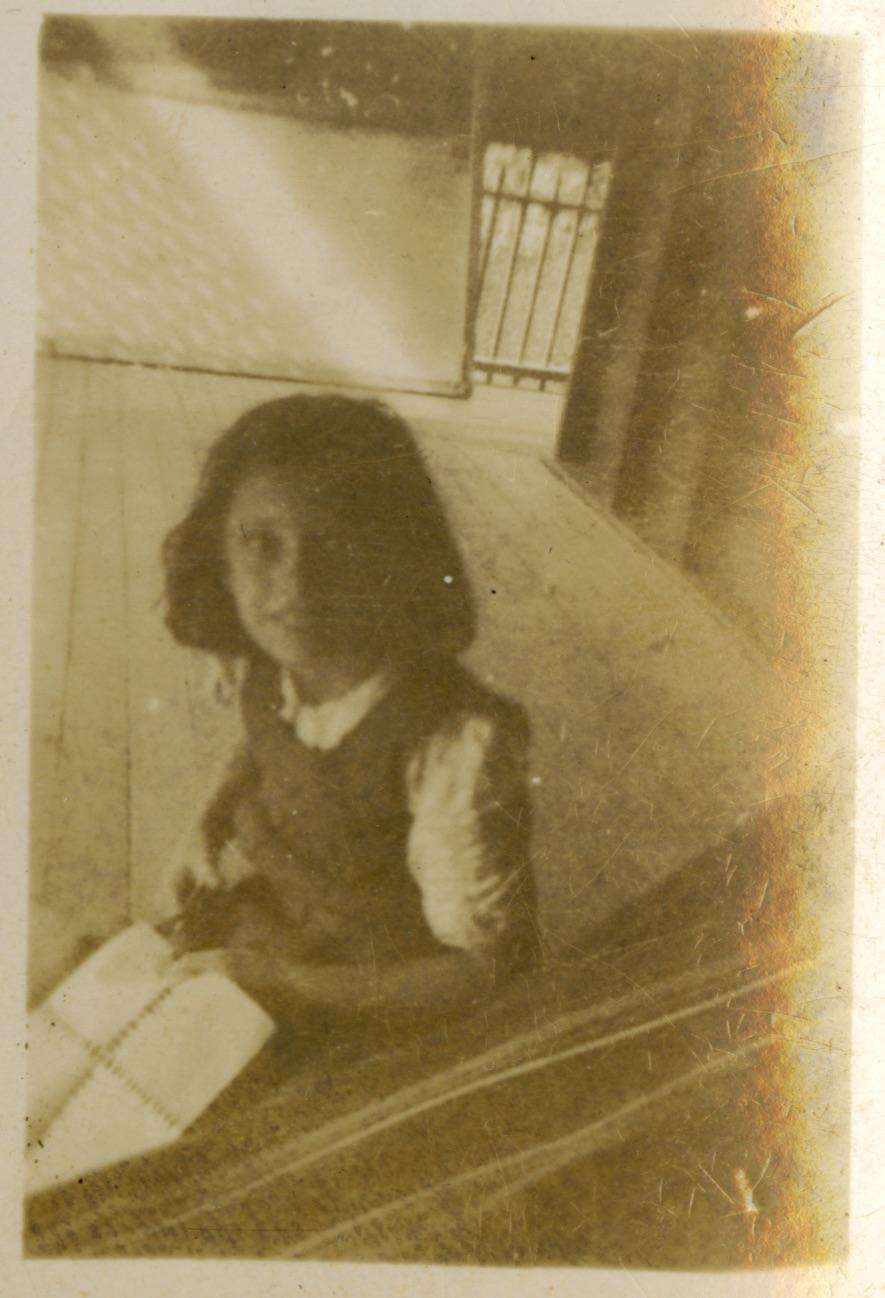 Mum as little girl